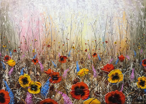 Field Of Dreams Original by Robert Cox *SOLD*
