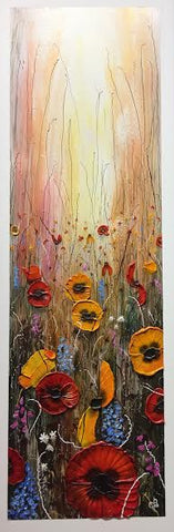 Wildflower Dance Original by Robert Cox *SOLD*