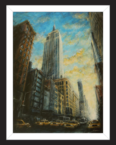 Empire State Building by Rayford