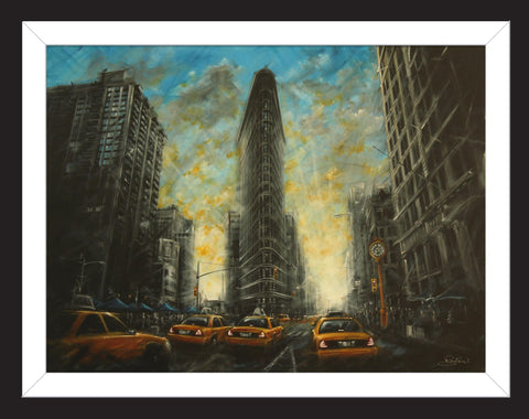 Flat Iron by Rayford-Limited Edition Print-The Acorn Gallery-Rayford-artist-The Acorn Gallery