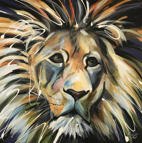 Leo (Lion) Original by Susan Leigh