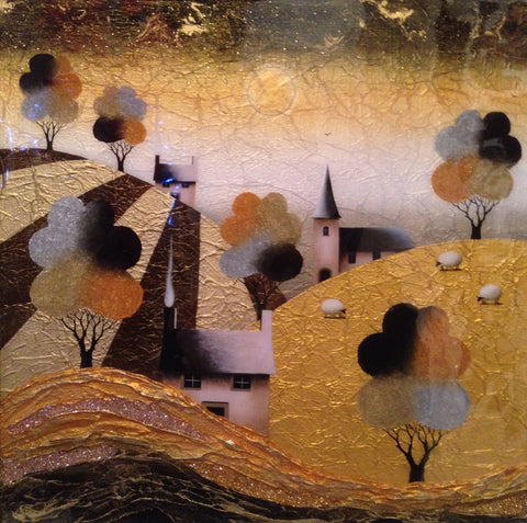 Golden Day Original by Sarah Louise Ewing *SOLD*