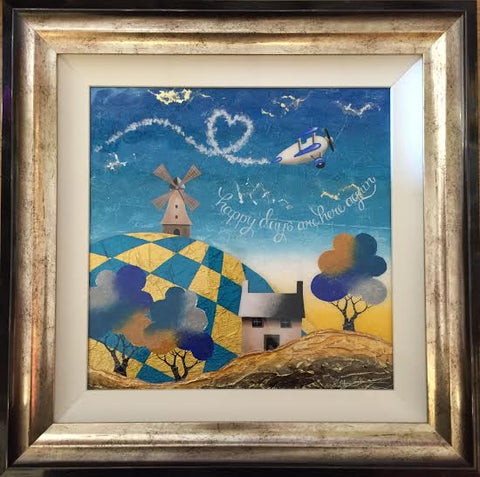 Happy Days Are Here Again Original by Sarah Louise Ewing *SOLD*