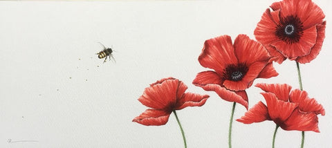 Rememberance Original by Sarah Louise Ewing *SOLD*