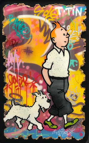 Tintin Original by Sleek Studio *SOLD*