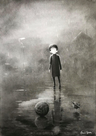 Rain Stops Play Original by Shaun Tymon *NEW*