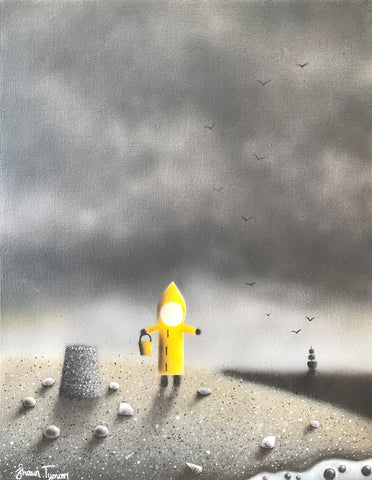 Building Sandcastles Original by Shaun Tymon *NEW*
