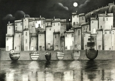 Moonlight Reflections Original by Shaun Tymon *NEW*
