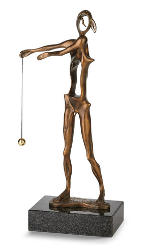 Homage To Newton Bronze Sculpture by Salvador Dali