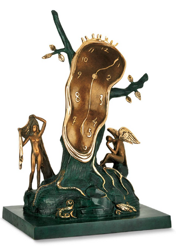 Nobility Of Time Bronze Sculpture by Salvador Dali