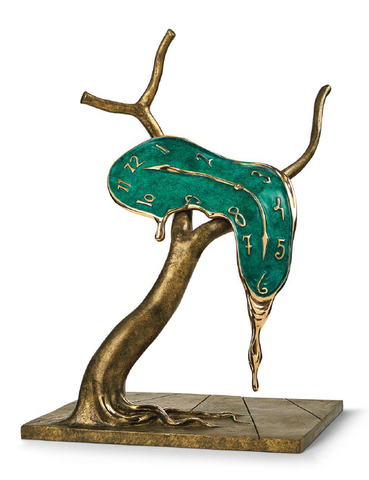 Profile Of Time Bronze Sculpture by Salvador Dali *NEW*