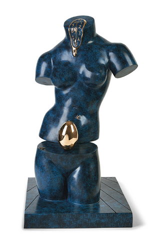 Space Venus Bronze Sculpture by Salvador Dali