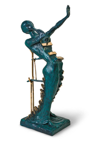 Woman Aflame Bronze Sculpture by Salvador Dali