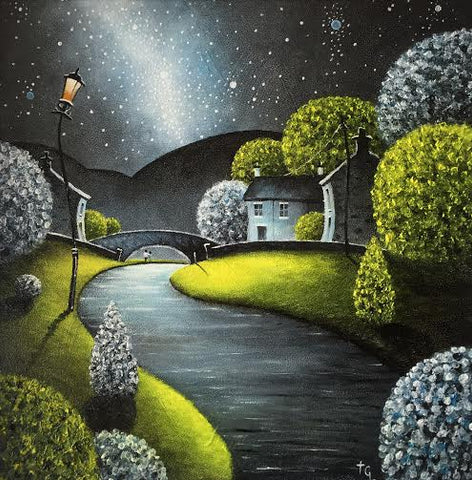 Riverside Walk Original by Tony Gittins *SOLD*