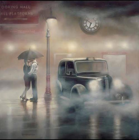 7 O' Clock Departure by Tim Shorten-Limited Edition Print-The Acorn Gallery-The Acorn Gallery