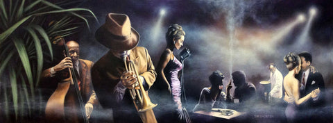 Mood Indigo Jazz Original by Tim Shorten