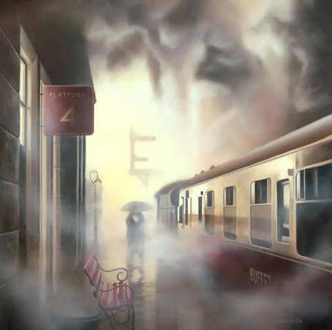 Platform 4 by Tim Shorten-Limited Edition Print-The Acorn Gallery-The Acorn Gallery
