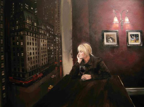Watching Lonely Streets Original by Kevin Day *SOLD*