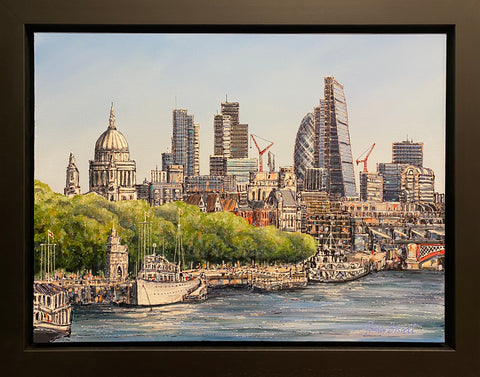 London Skyline Original by Phillip Bissell