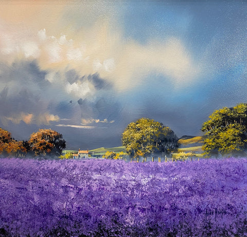 Lavender Haze Original by Allan Morgan