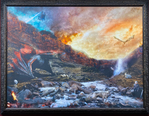 Dracarys  (Game Of Thrones) Original by Mark Davies *NEW*