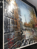Travelling Around Paris Original on Aluminium by Nigel Cooke *NEW*