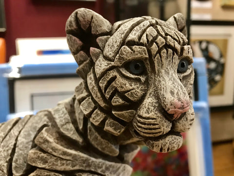 Siberian Tiger Cub by Edge Sculpture *NEW*