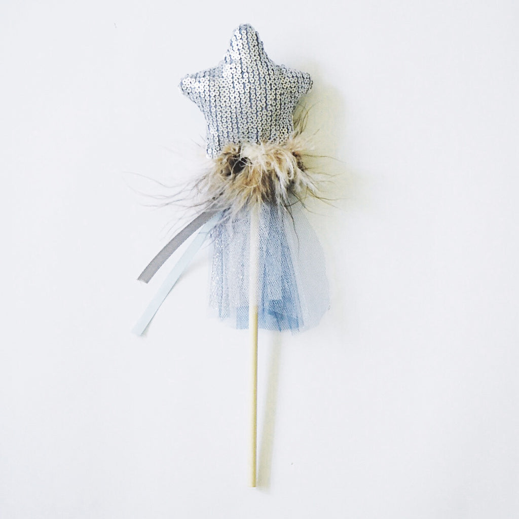 Little Blue Fairy - Etoile & Lune Magic Wand