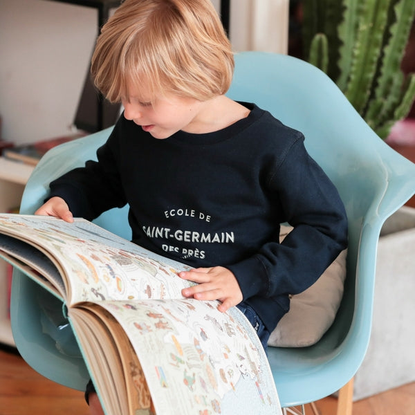 Chat Malo - Le Petit Germain kids sweatshirt