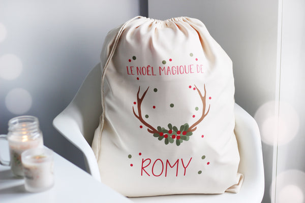 My Lil Cutie Pie - Customizable Santa Sack