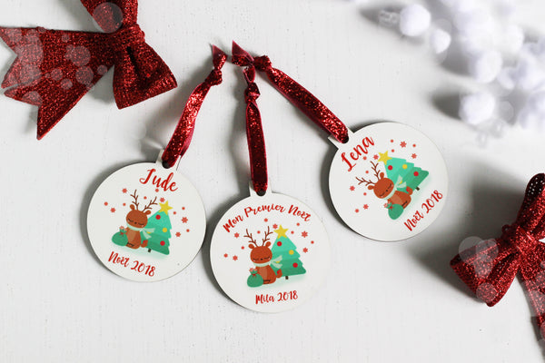 My Lil Cutie Pie - Customizable Christmas bauble