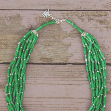 Lamwaka Necklace Green