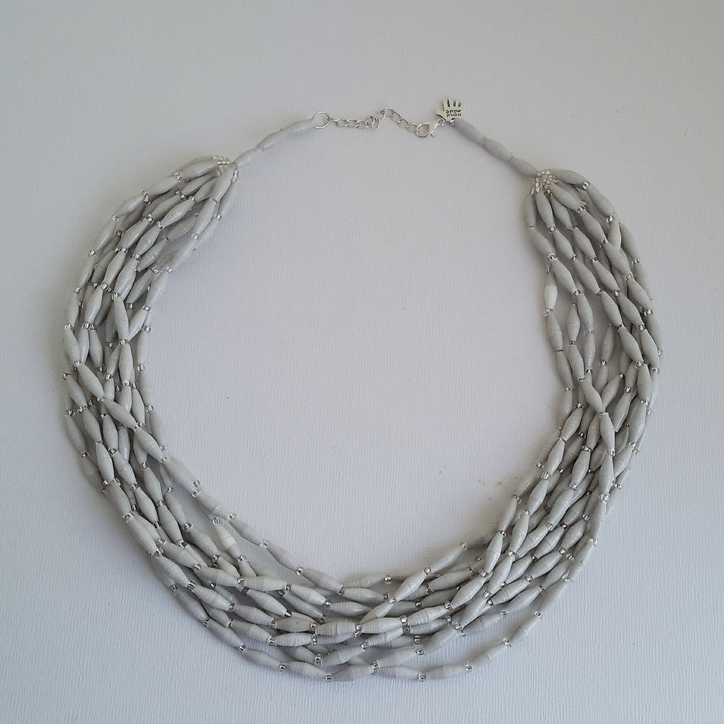 Lamwaka Necklace Grey