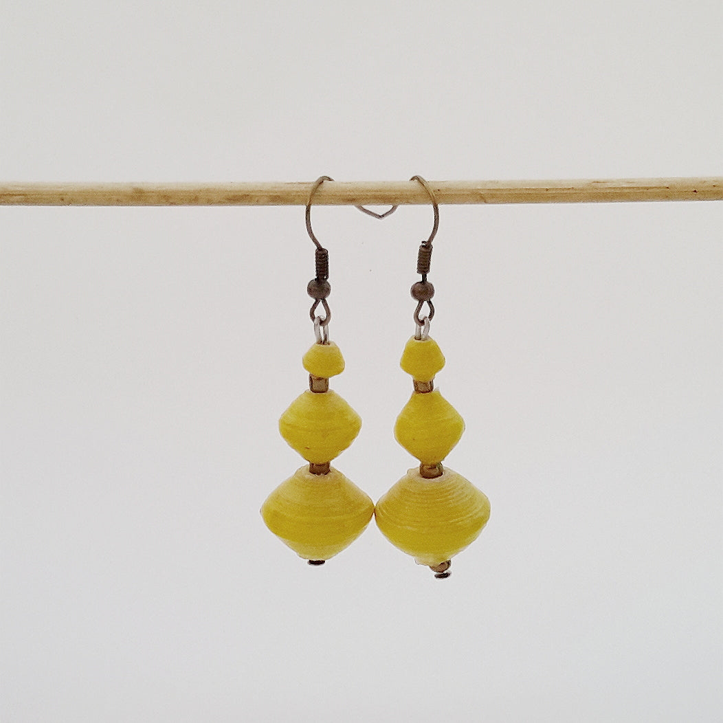 Bodo Necklace Yellow + Earrings for FREE!