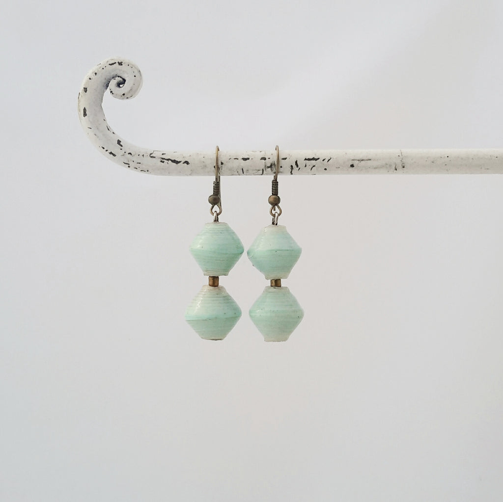 Amuka Earrings Aquamarine
