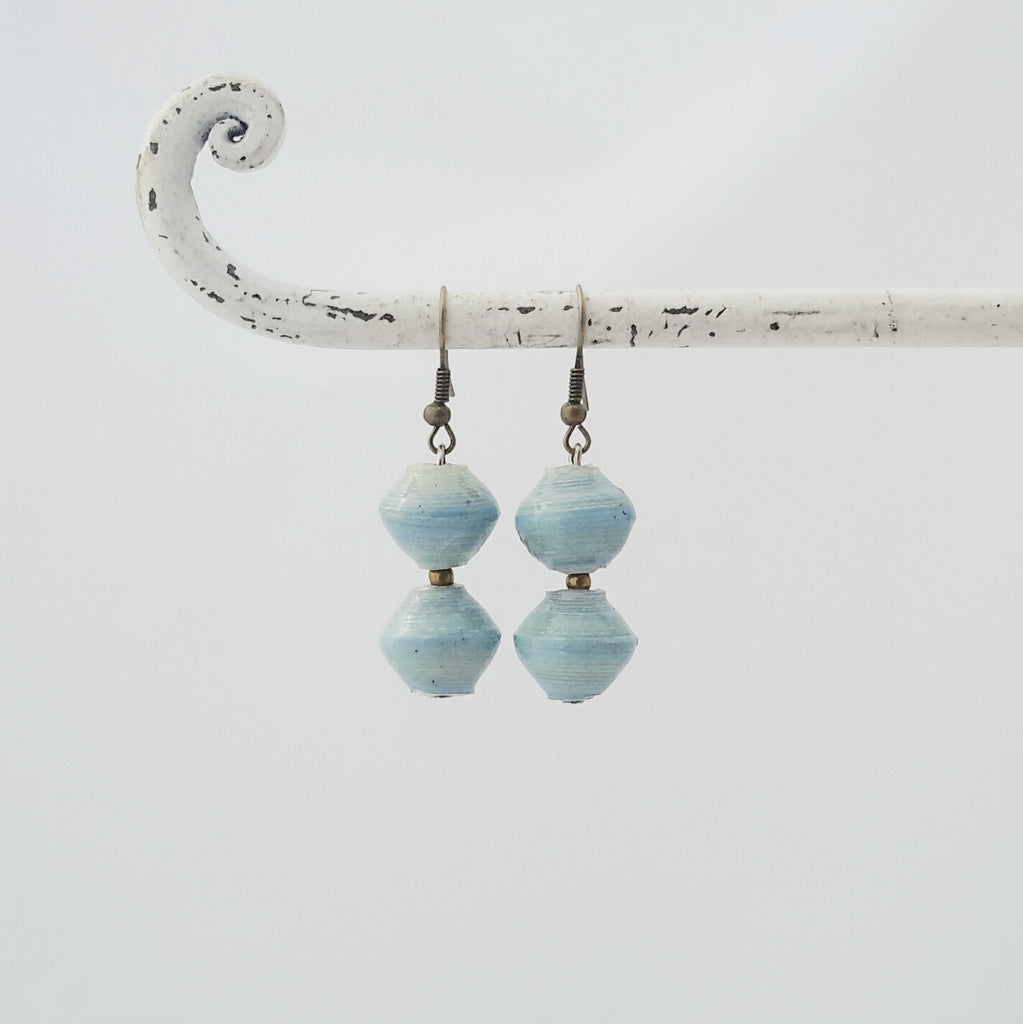 Amuka Earrings Light Blue