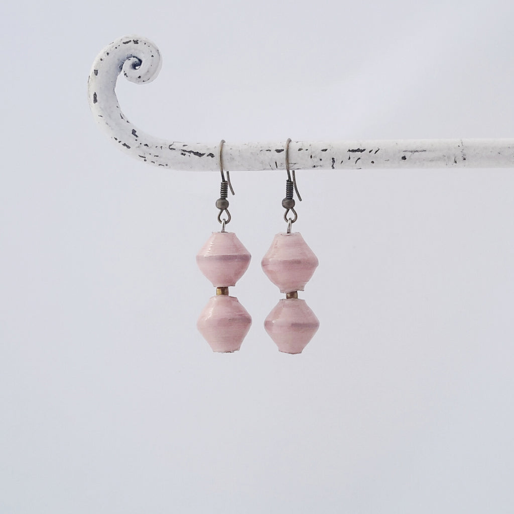 Amuka Earrings Pink