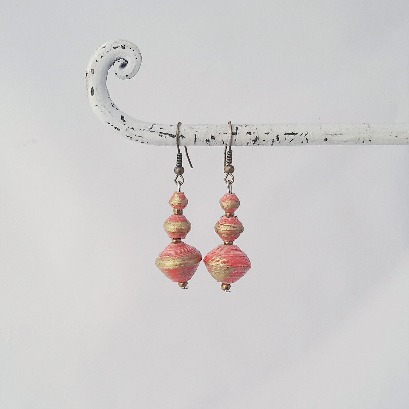Bodo Earrings Orange