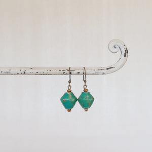 Abara Earrings Green