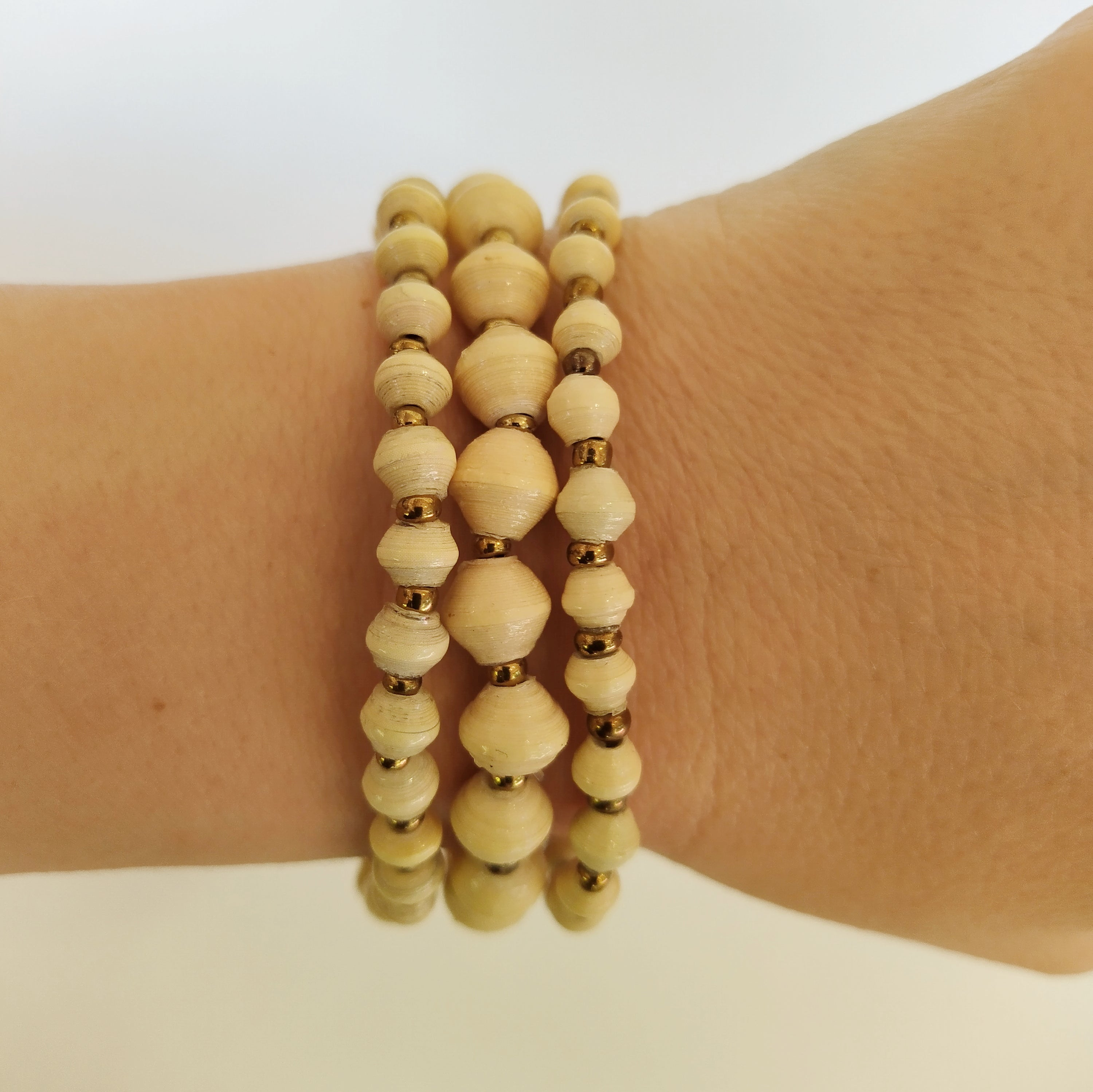 Lapolo Bracelet Cream (Natural White)