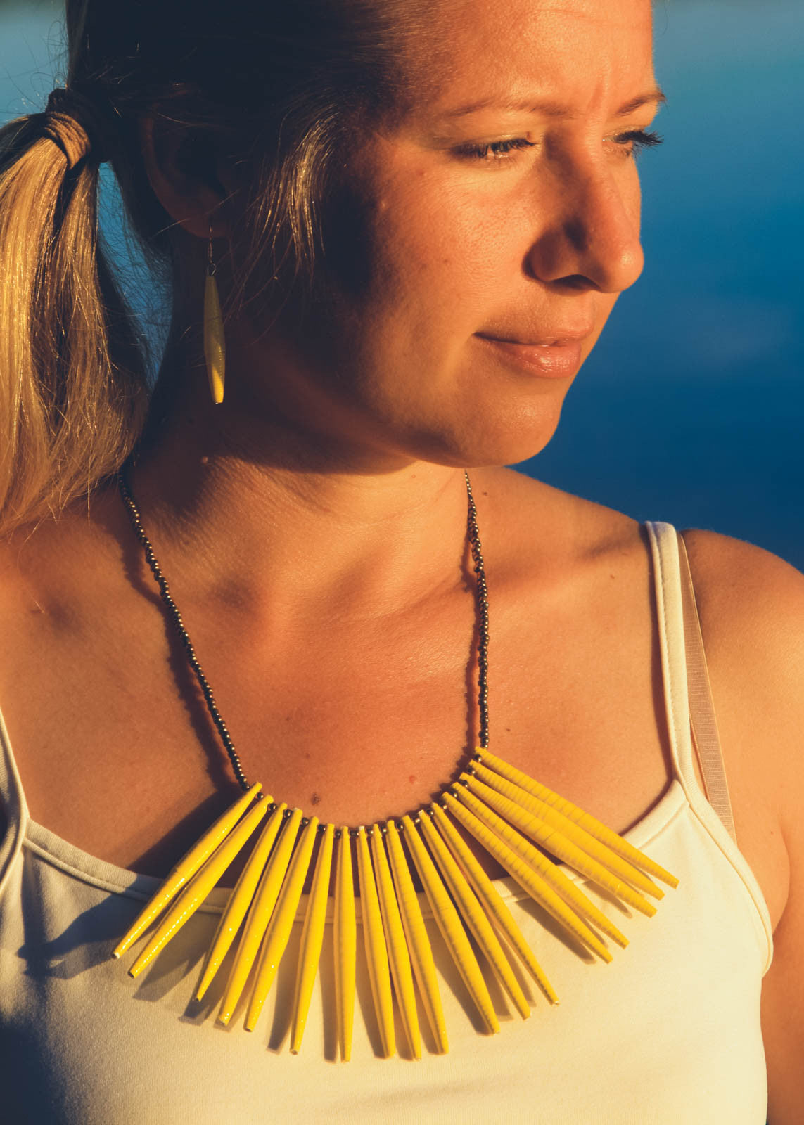 Aloyo Necklace Yellow