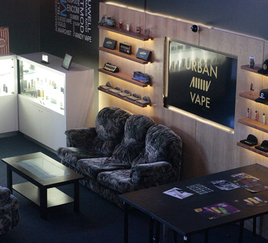 Urban Vape Store interior view