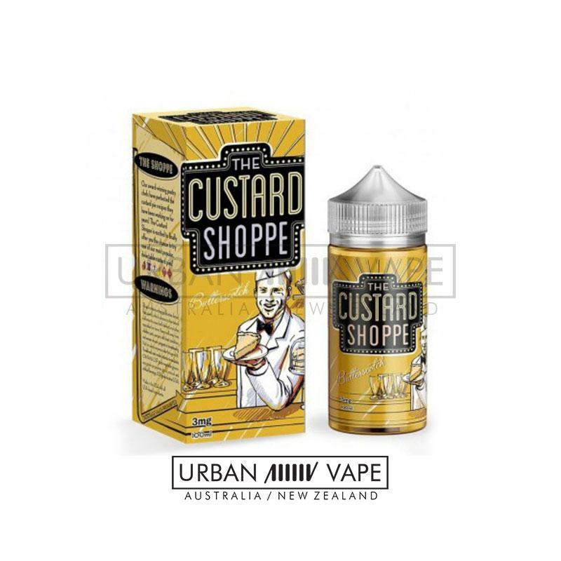 THE CUSTARD SHOPPE - Butterscotch 100ml - Urban Vape Shop New Zealand