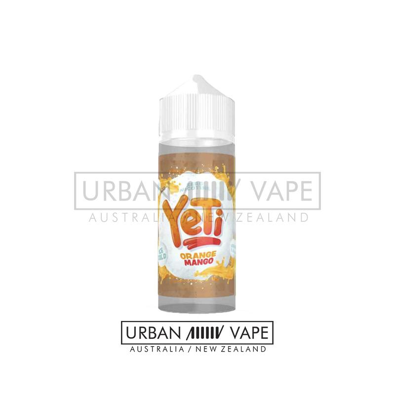 YETI - Orange Mango 100ml - Urban Vape Shop New Zealand