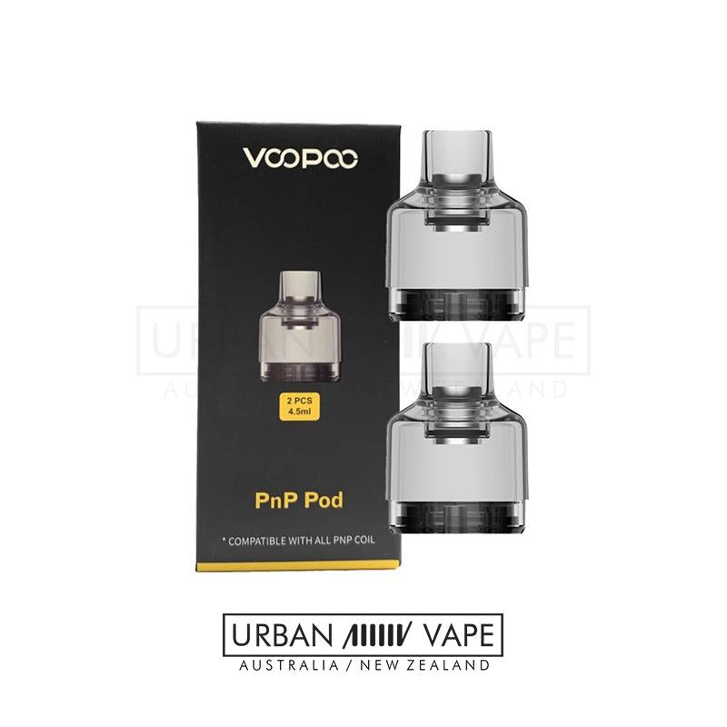 VOOPOO - PnP Empty Pod 4.5ml 2pc - Urban Vape Shop New Zealand