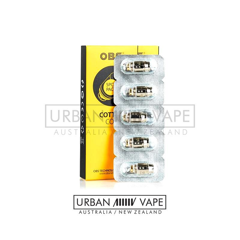 OBS - Cube Mini Replacement Coil 5pcs/pack - Urban Vape Shop New Zealand