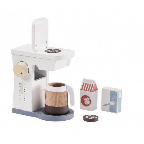 Kids Concept - Wooden Coffee Machine - Dapper Mr Bear - www.dappermrbear.com - NZ