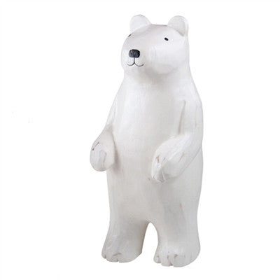 Wooden T-Lab Standing Polar Bear