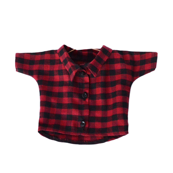 Bear Accessories - Plaid Shirt, Philomenakloss