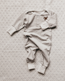 Piper Bug Simplicity Romper - Taupe - Dapper Mr Bear - www.dappermrbear.com _ NZ
